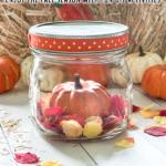 Fall Leaves Shaker Globe