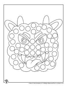 Halloween Monster Do a Dot Preschool Activity Page
