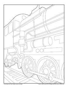Train Ultimate Transportation Coloring Collection