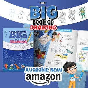 Big Book of Drawing for Kids AND Adults