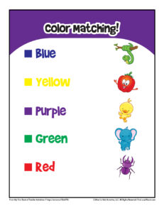 Color Matching for Little Kids