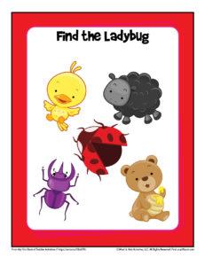 Easy Printable Worksheet for Toddlers