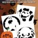 Monster Pumpkin Carving Stencils