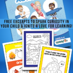 Educational Printables from My First Book of Toddler Activities