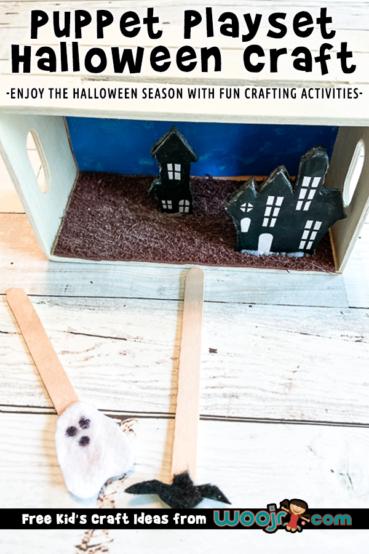 Halloween Puppet Playset Craft