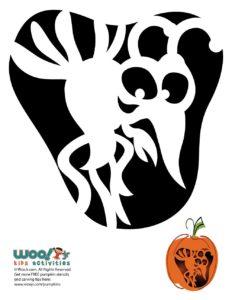 Printable Pumpkin Carving Stencil