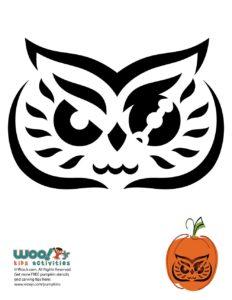 Halloween Pumpkin Carving Stencil Printable