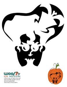 Free Printable Halloween Pumpkin Stencil